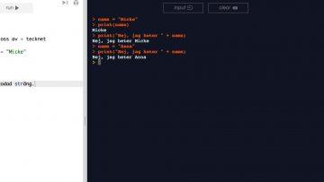 PYT1 _ Del 3 – Input och Output thumbnail