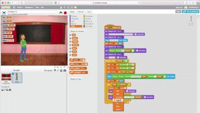 Scratch _ Del 4 – Vi satter ihop programmet och avslutar thumbnail