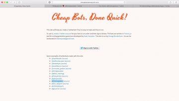 Twitterbot – del 1 – Vi skapar konton och forutsattningar thumbnail