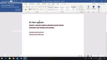 Elevdator – 07 A – Word _ Skapa nytt – Spara – Oppna thumbnail